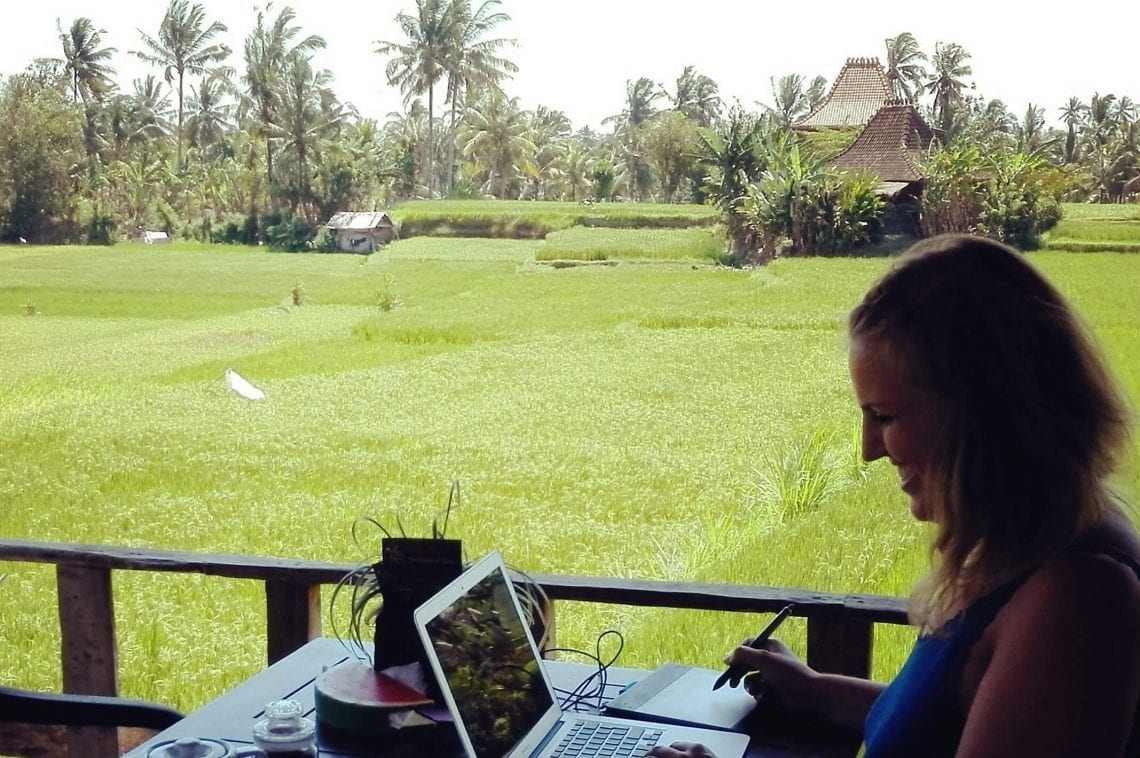 Interview Thamara Zijlstra - Digital Nomad Bali