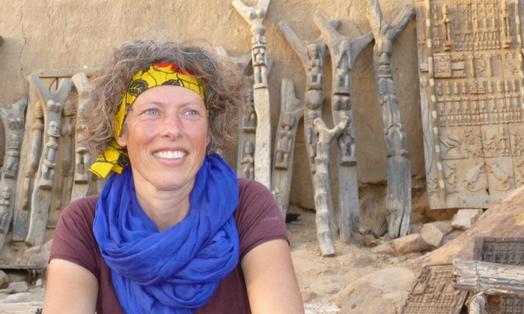 Monique Teggelove - Papillon Reizen - Dogonland 2010 (1)