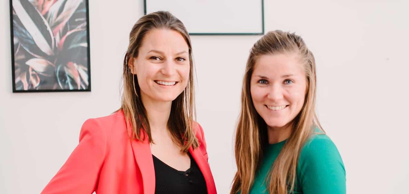 PR-adviseurs Chantal en Suzanne begonnen samen PR-cursus.nl