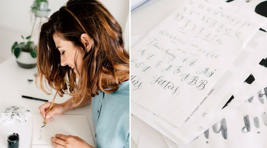 Marjet Slingerland van Studio Met Marjet over Letters! het boek en werkboek