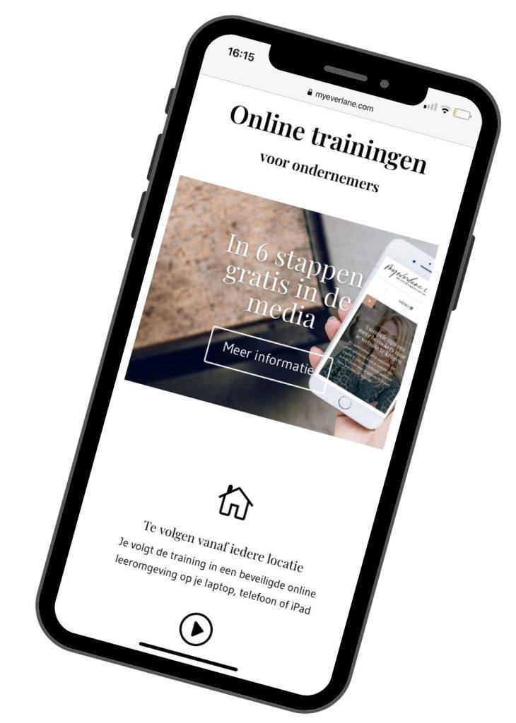 online training voor ondernemers